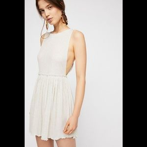 NWOT Free People Beach BRB mini-dress